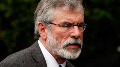 Sinn Fein's Gerry Adams. (Reuters / Cathal McNaughton)
