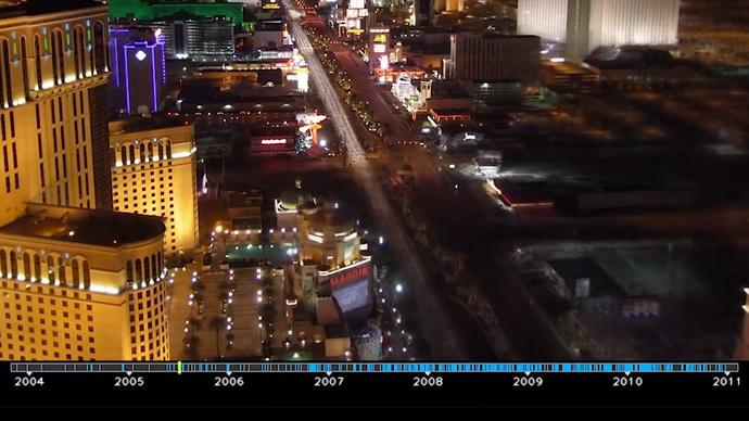 Google uses public images to create stunning time-lapses of iconic landmarks