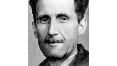 George Orwell. (image from wikipedia.org)