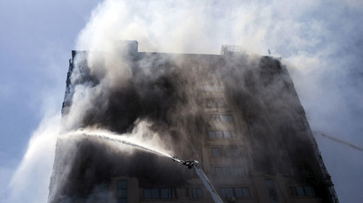 17 dead in Azerbaijan as high-rise combusts in seconds (PHOTOS, VIDEO)