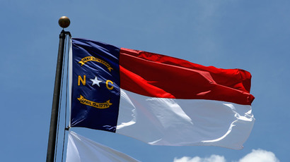 North Carolina state flag (Ross Kinnaird/Getty Images/AFP)