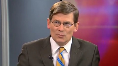 Former deputy director of the Central Intelligence Agency, Michael Morell (Still from RT video)