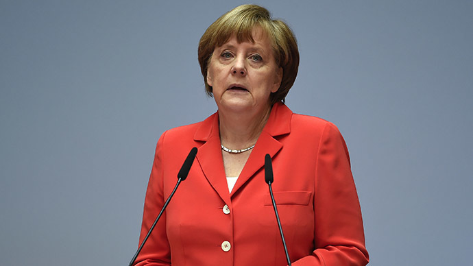 German Chancellor Angela Merkel. (Reuters/Tobias Schwarz)