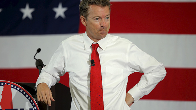Rand Paul filibusters NSA surveillance in Congress