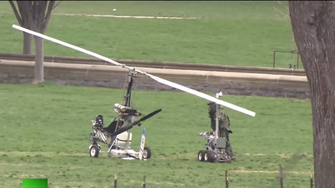 Gyrocopter pilot who landed on Capitol lawn indicted on 6 charges
