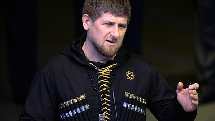 Head of Chechna Ramzan Kadyrov. (RIA Novosti/Said Tsarnaev)