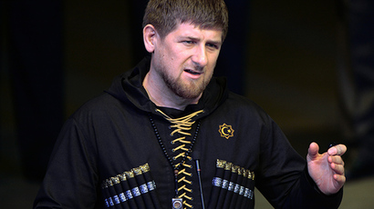 Head of Chechna Ramzan Kadyrov. (RIA Novosti/Said Tsarnaev)