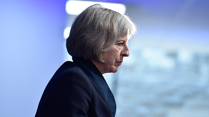 Britain's Home Secretary, Theresa May. (Reuters / Toby Melville)