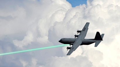 Laser-armed killer drones: Coming soon to a sky near you