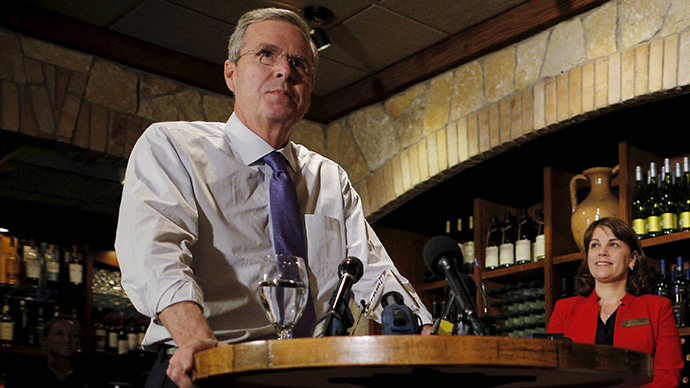 Potential 2016 Republican presidential candidate and former Florida Governor Jeb Bush (Reuters / Brian Snyde)