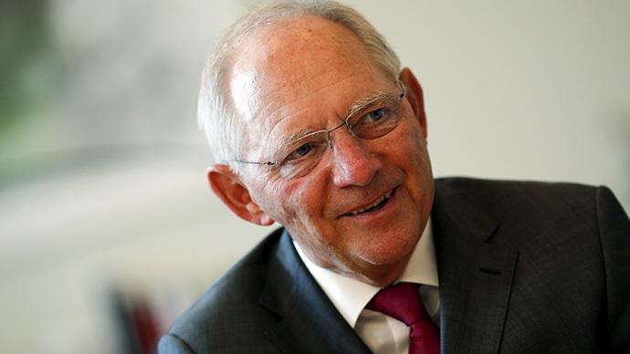 German Finance Minister Wolfgang Schaeuble. (Reuters/Fabrizio Bensch)