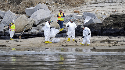 Operators of ruptured California pipeline called spill 'extremely unlikely'