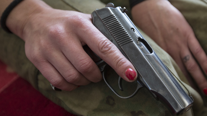 Snuff selfie: 21yo Russian woman shoots self in head posing for photo