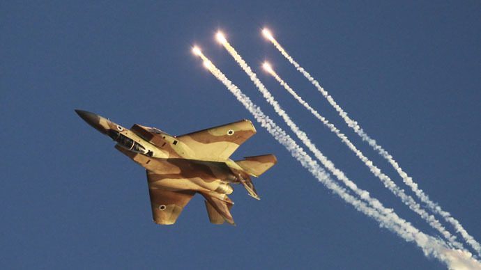 ​Israeli jets strike Gaza 'terror infrastructure' after rocket attack