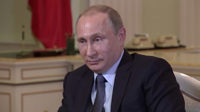 Russian President Vladimir Putin (RT screenshot)