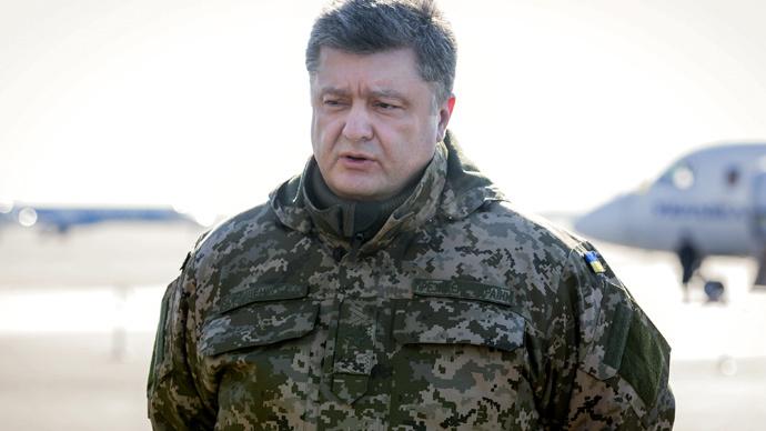 Ukrainian President Petro Poroshenko (RIA Novosti / Mikhail Palinchak)
