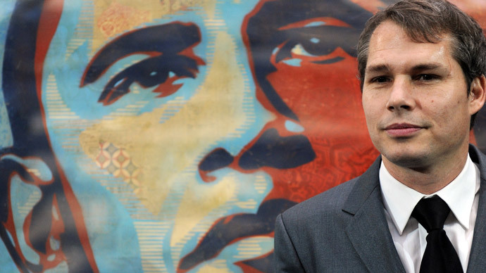 Artist Shepard Fairey.(AFP Photo / Jewel Samad)