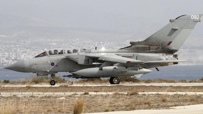A British Tornado jet (Reuters)