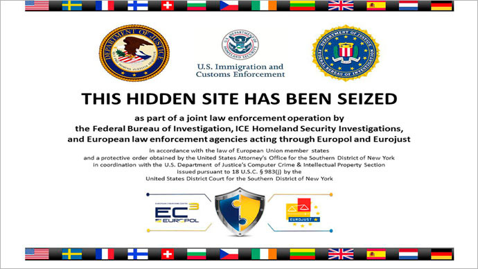 The homepage to Silk Road 2.0, allegedly an underground drug market, is seen in a screenshot after it was closed by U.S. authorities November 6, 2014. (Reuters)