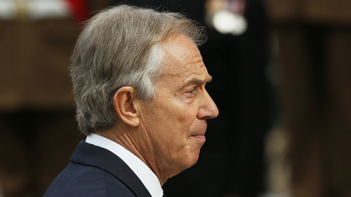 Former British Prime Minister Tony Blair (Reuters/Stefan Wermuth)
