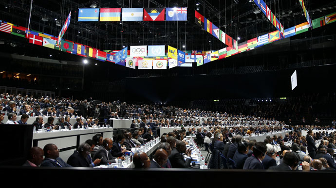Swiss police confirm bomb threat received at FIFA congress in Zurich - local media reports