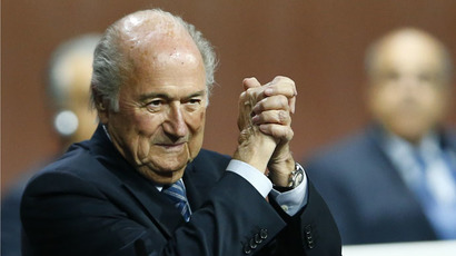 Back in the saddle: Defiant Blatter blasts US probe against FIFA