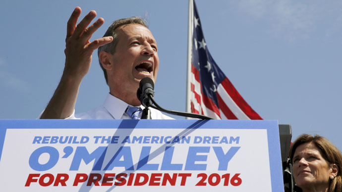 Democratic U.S. presidential candidate and former Governor of Maryland Martin O'Malley (Reuters/Jim Bourg)