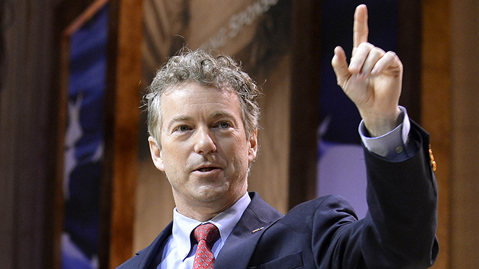'Stop illegal NSA spying': Rand Paul vows to let USA Patriot Act expire