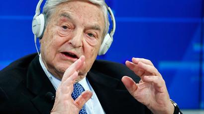 Georges Soros.(Reuters / Ruben Sprich)