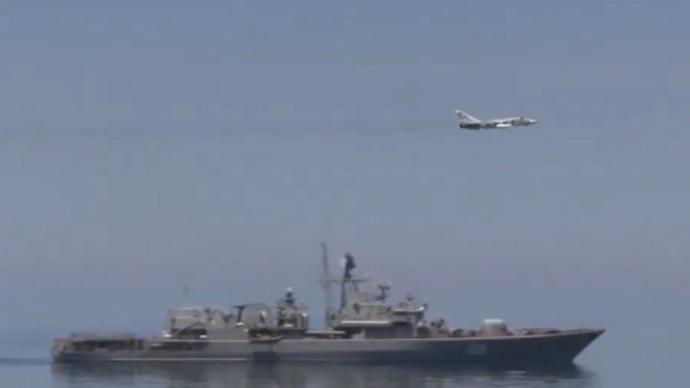US releases video of Russian jet's encounter with US warship in Black Sea