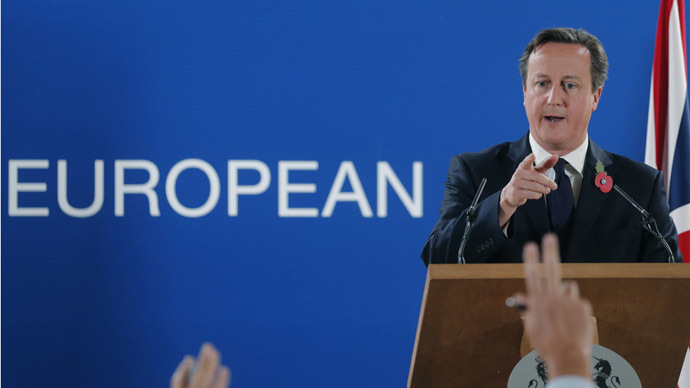 Cameron refuses to rule out 'nuclear option' of EU Brexit over human rights reform