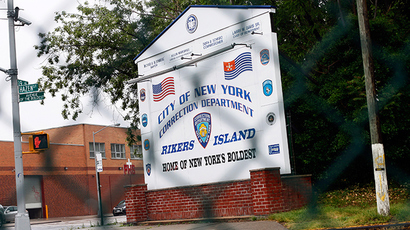 The entrance to the City of New York Rikers Island Correction Department facility is seen in the Queens borough of New York (Reuters / Shannon Stapleton)