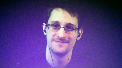 Former NSA contractor and CIA employee Edward Snowden