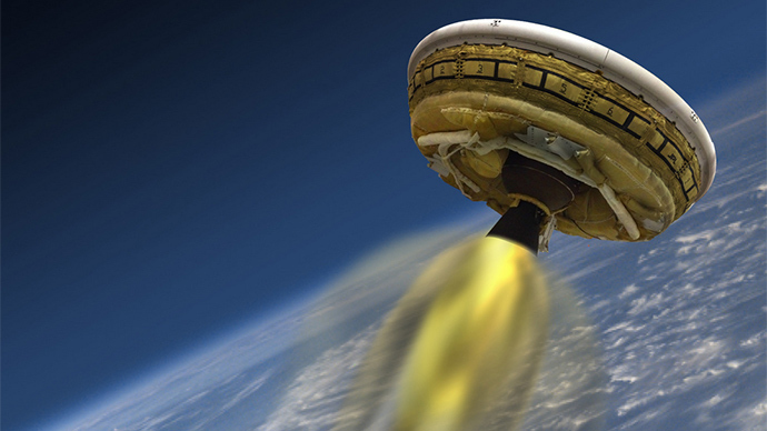 NASA to send 'flying saucer' to edge of space