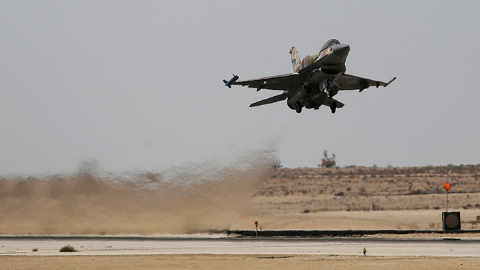An Israeli F-16 fighter jet (Reuters / Amir Cohen)
