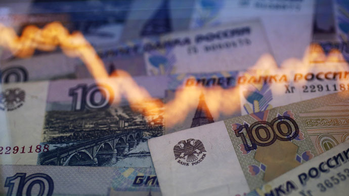 Ruble slides on looming OPEC output decision, Donbass fighting