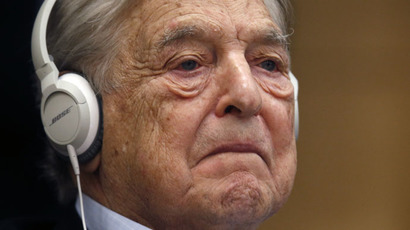 Georges Soros, Chairman of Soros Fund Management (Reuters/Charles Platiau)
