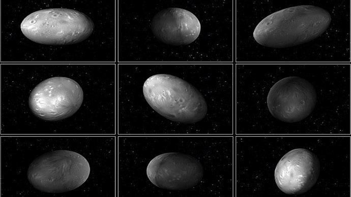 Cosmic chaos: Pluto's moons drunkenly dance around dwarf ...