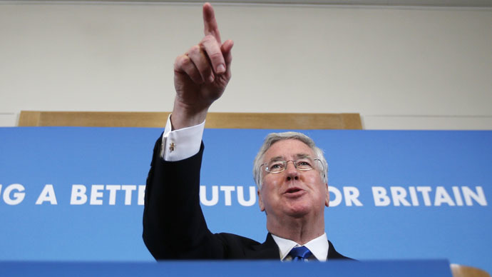 Britain's Defense Minsiter Michael Fallon (Reuters/Peter Nicholls)
