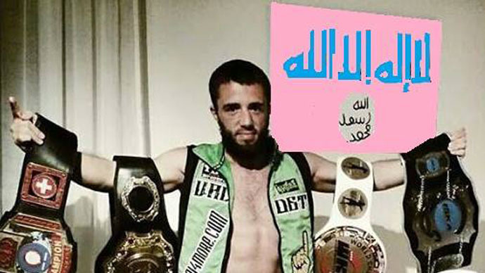 World Muay Thai boxing champion from Germany joins ISIS in Syria