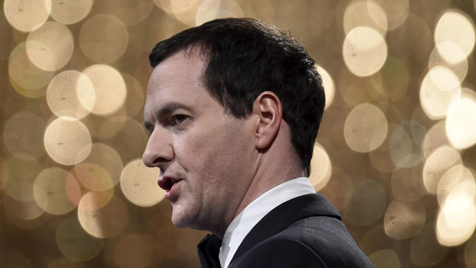 Britain's Chancellor of the Exchequer, George Osborne (Reuters/Toby Melville)