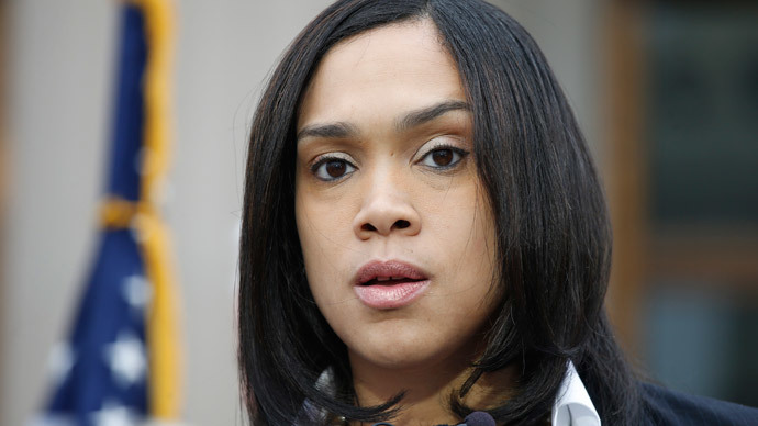 Baltimore state attorney Marilyn Mosby. (Reuters / Adrees Latif)