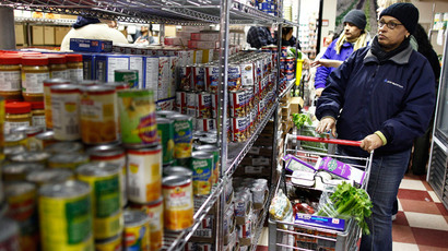 The cupboard is bare: NYC food banks running out of stock