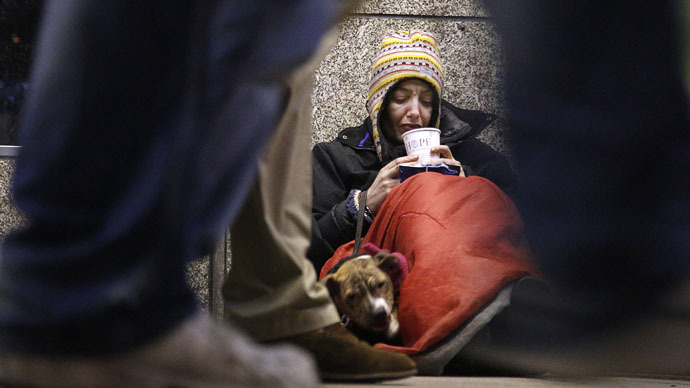​'Over 8,000 people a week risk losing their house' – homeless charity
