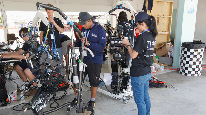 Not quite terminators: Rescue robots compete at DARPA challenge finals