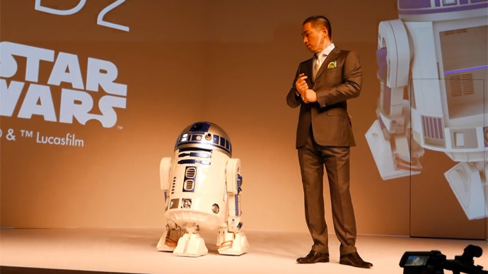 Mobile, remote-controlled R2-D2 fridge will fetch your beer