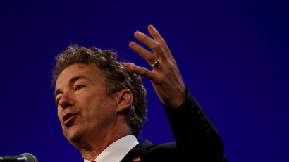 U.S. Presidential candidate and Texas Senator Rand Paul.(Reuters / Jim Young )