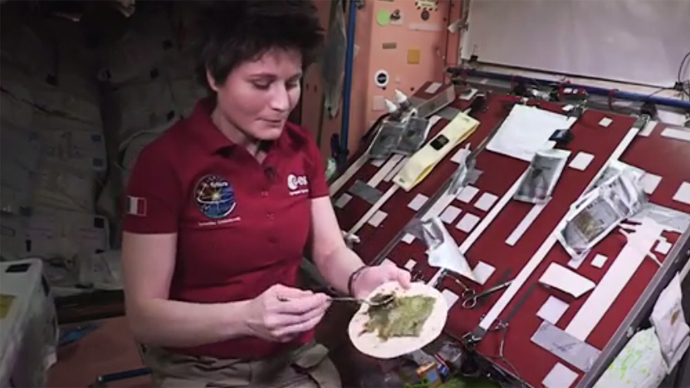 Taco in space? Astronaut masters gourmet dish on the ISS (VIDEO)