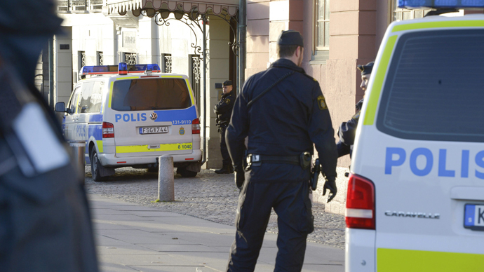 Migrant beggars in Sweden splashed with acid in suspected hate attack
