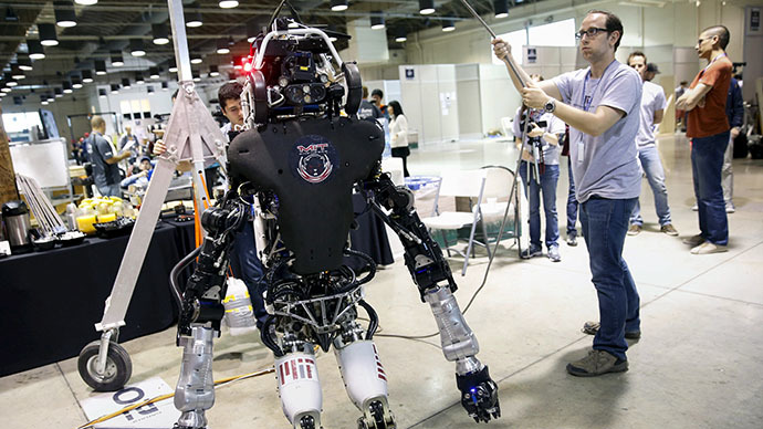 S. Korean bot wins DARPA's robotic disaster simulation contest